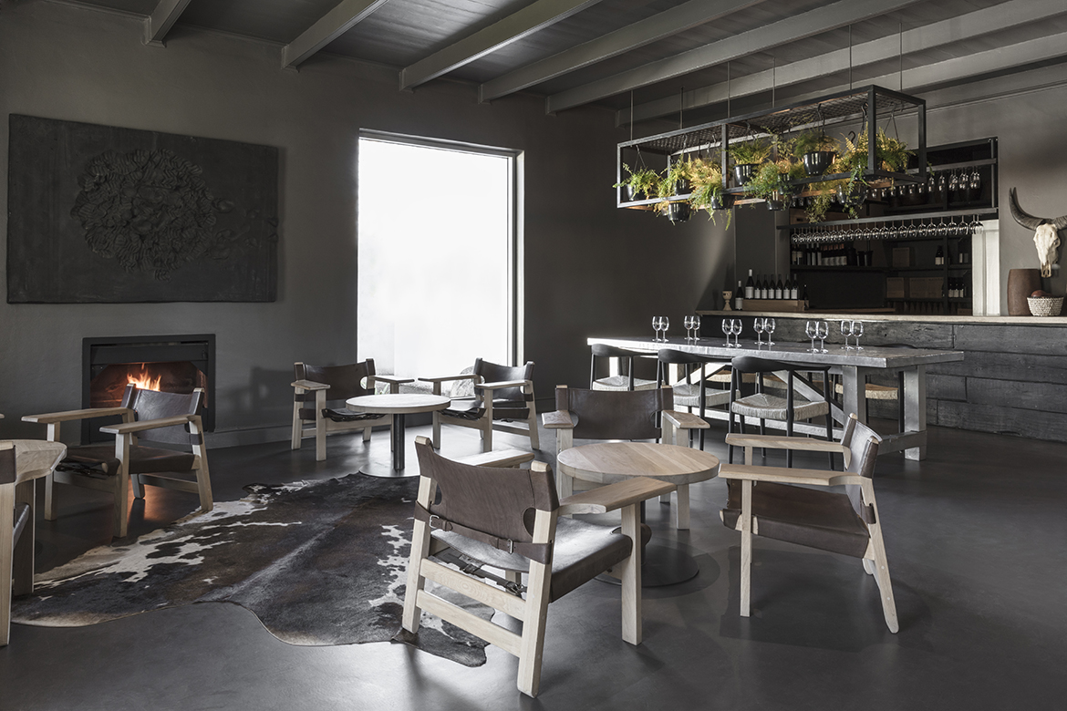 interior design, restaurant, franschoek, cape town