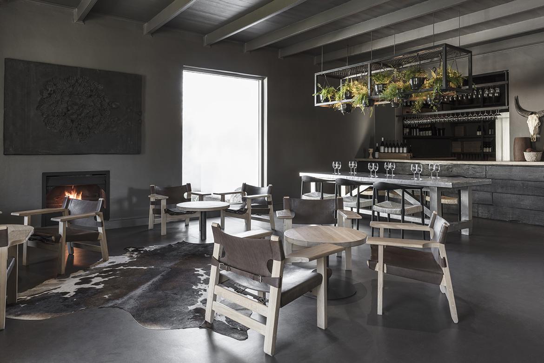 interior design, restaurant, franschoek, cape town
